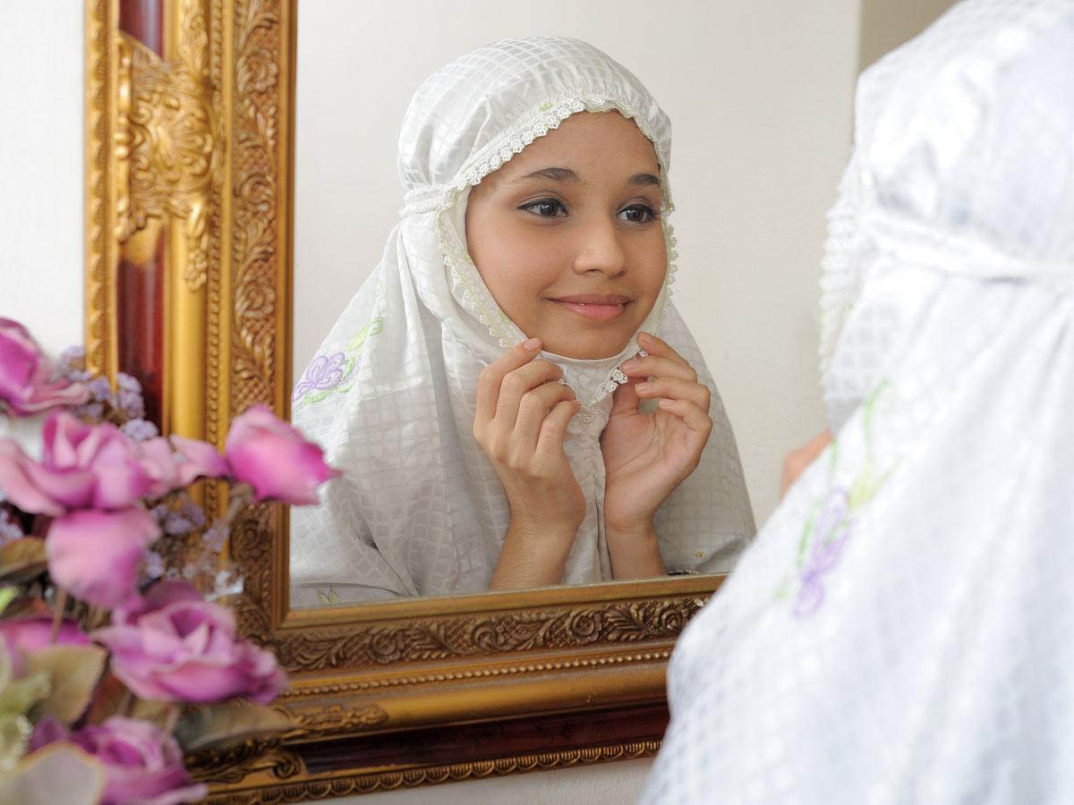Дети в хиджабе красивые фото
