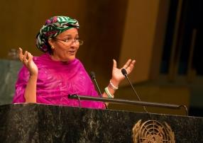 Амина Мохаммед: я сосредоточу усилия на реализации Целей устойчивого развития