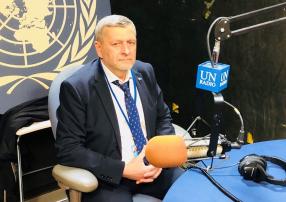 Ахтем Чийгоз в ООН: «Мы здесь собираемся, чтобы мир нес ответственность за развитие коренных народов» ©️Служба новостей ООН: Ахтем Чийгоз