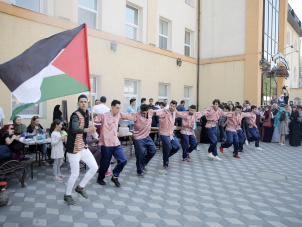 """""""Dabka"""" dance, exhibitions and quizzes — Palestinian Culture Day at Kyiv ICC"""