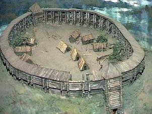 Варіант реконструкції салтівською фортеці