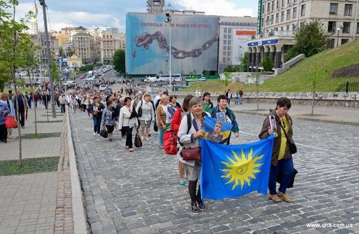 Мусульманки взяли участь у заходах, приурочених до Дня матері у Києві
