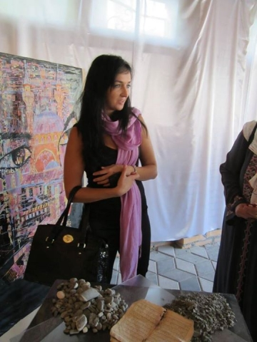 Crimean artist Mila Cheseldine