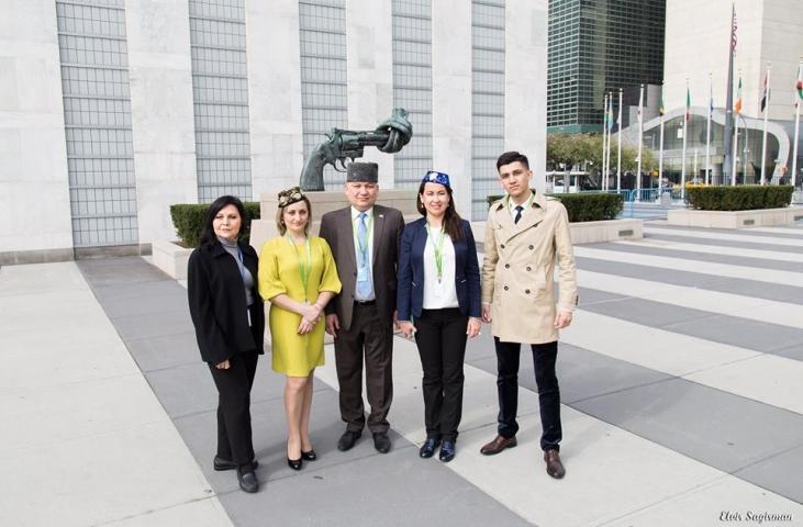 Я горжусь историей и представителями своего народа, — Элвир Сагирман на 16-й сессии Постоянного форума ООН