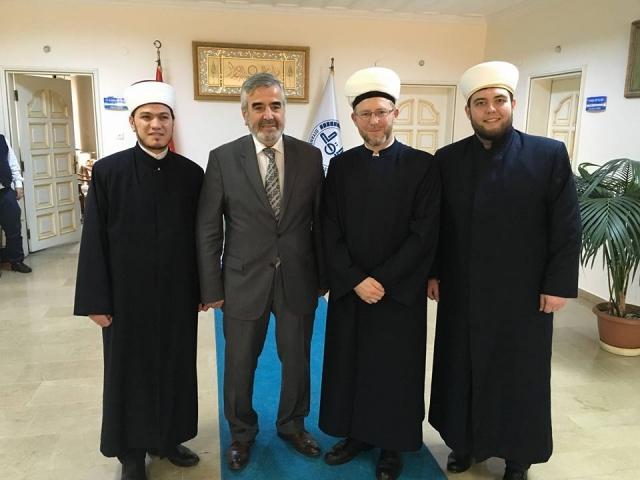 Муфтії ДУМУ «Умма» і Стамбула обговорили співробітництво між мусульманами України і Туреччини