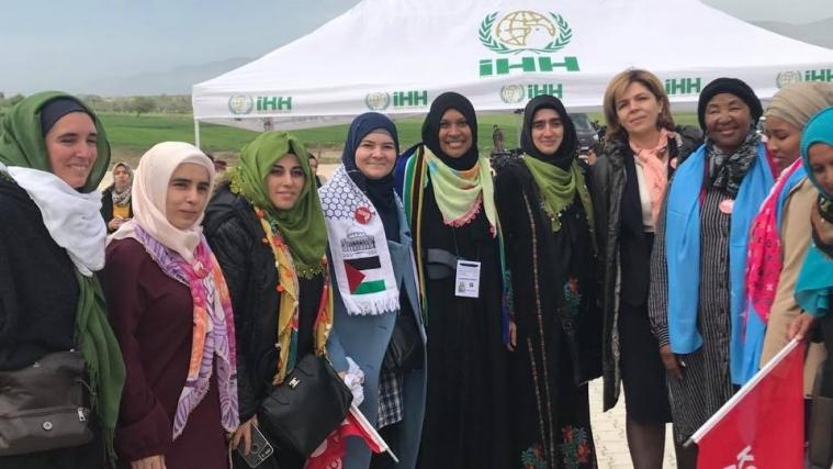Ольга Богомолець провела 8 березня в підтримку сирійських жінок