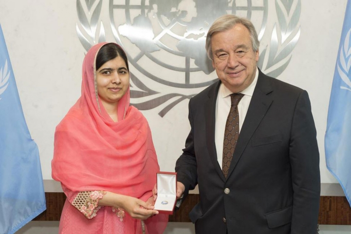 Мусульманка Малала Юсуфзай стала наймолодшим Посланцем миру