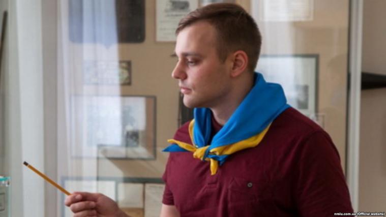 Олексій Савченко, старший науковий співробітник Національного музею історії України