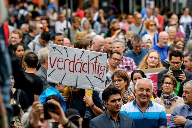 «Мусульмани проти терору» — акція в Кельні