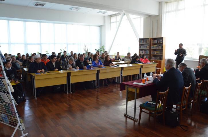 Дніпровський імам привітав національний університет ім. О. Гончара зі сторіччям