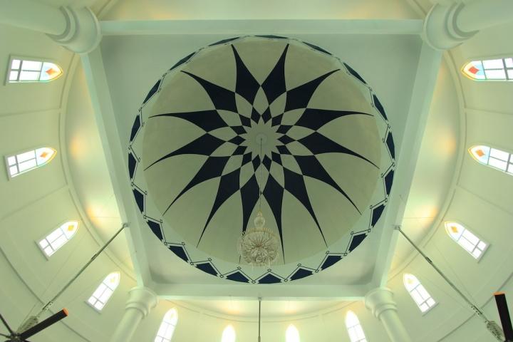 Символ Малакки — плавуча мечеть Масджид Селат