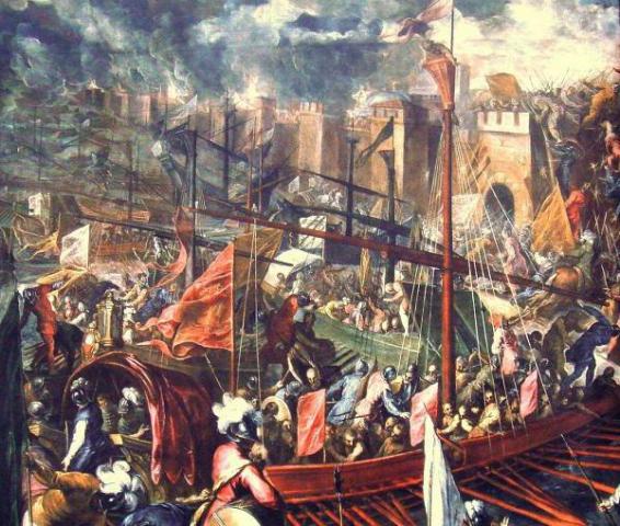 Облога Константинополя хрестоносцями