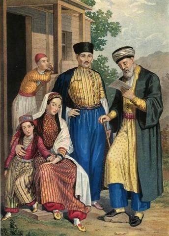 На старих картах Криму відображена пам'ять про історію впливових родів кримськотатарської знаті.