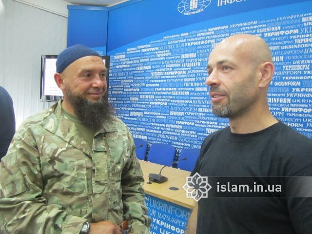 Монографію про участь мусульман в Революції Гідності і АТО презентовано в Києві