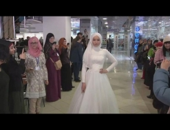 Ukraine holds Islamic fashion show on Hijab day