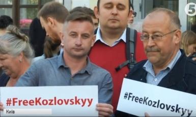 Письменники влаштували акцію на підтримку ув'язненого в Донецьку релігієзнавця