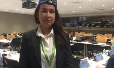 Гаяна Юксель в ООН: «Кримські татари — корінний народ, який живе на своїй історичній Батьківщині»