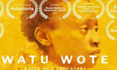 Стрічка, що на мові суахілі має назву Watu wote, дослівно перекладається, як «Усі люди» або ширше — «Усі ми».