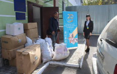 Muslims gathered aid for more than 150 foreigners in the Volyn temporary stay Center