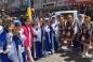 Ансамбль «Къырым айлеси» выступал в Турции под украинским и крымскотатарским флагами