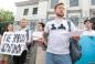 «Де Ервін?» — акція під посольством РФ
