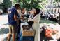 Волонтеры «Марьям» в Рамадан кормили бездомных