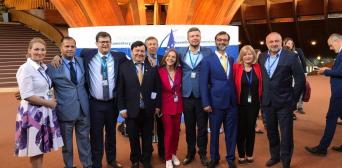 фейсбук Ірини Геращенко: Українська делегація