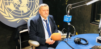 Ахтем Чийгоз в ООН: «Ми тут збираємося, щоб світ відповідав за розвиток корінних народів» © Служба новин ООН: Ахтем Чийгоз