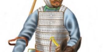На українських землях в давнину вояки носили тюркські, османські та ординські обладунки