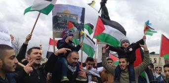 Акції протесту в Україні: Рішення Трампа щодо Єрусалима порушує постанови ООН