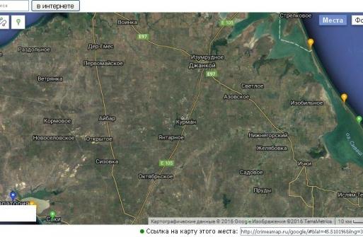 Яни Капу, Курман, Іслям-Терек — кримські селища на Google Maps