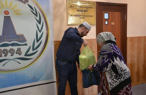 215 Kharkiv Muslim Families Received Grocery Packs In Early Ramadan