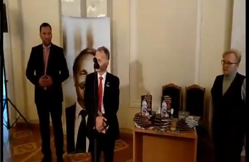 Мустафа Джемілєв подякував видавцям та авторам книги про В'ячеслава Чорновола