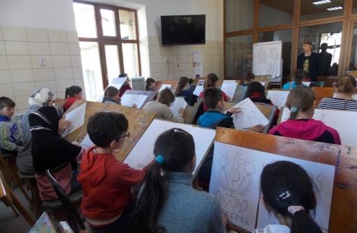 «Узоры от Рустема Скибина» — мастер-класс для юных художников