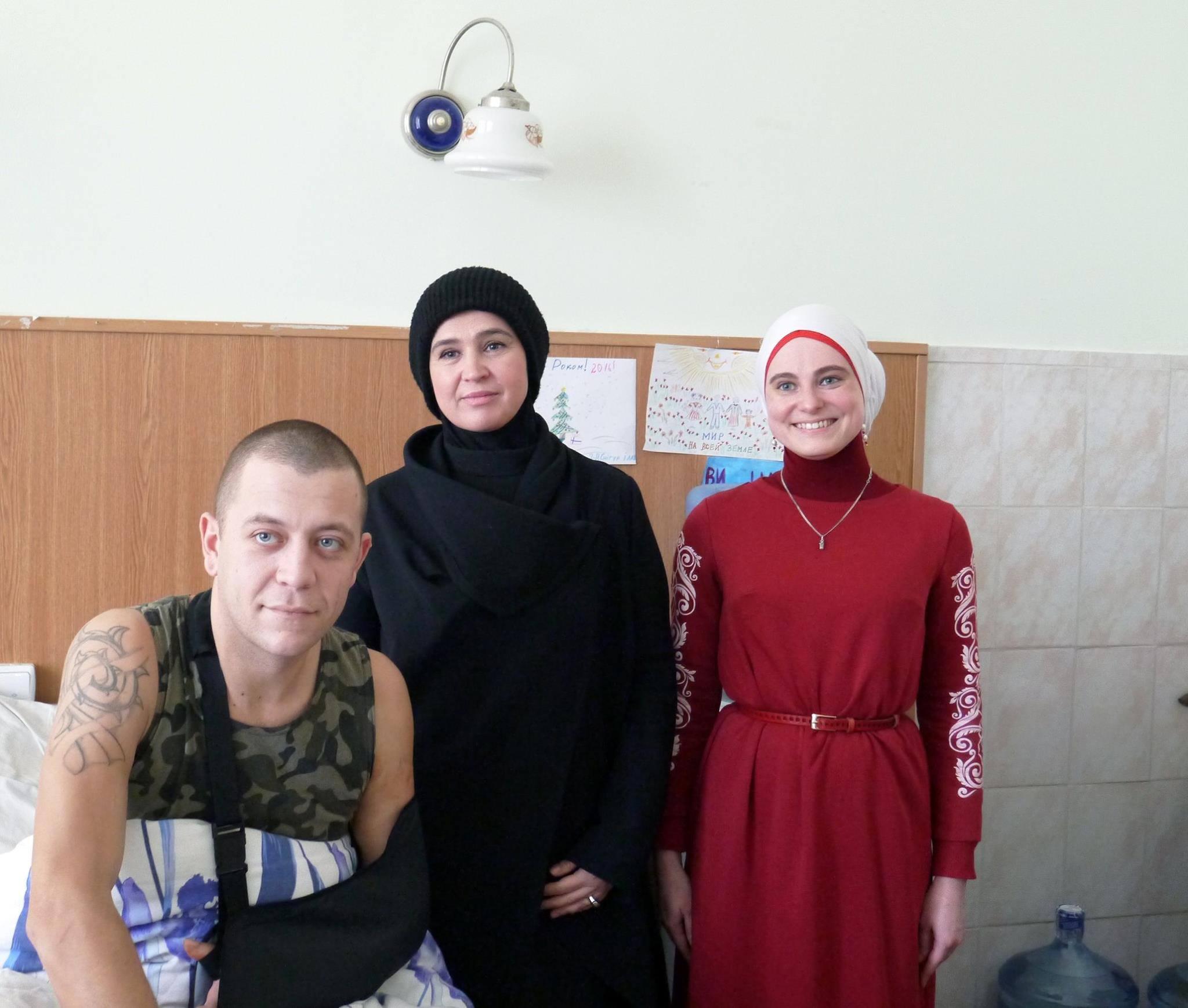 В Центральном военном госпитале страховщики занимаются ... | 1739x2048
