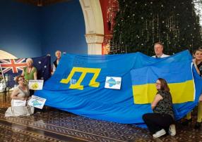 Движение #LIBERATECRIMEA стремится заставить Россию вернуть Украине оккупированные территории