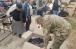 Імами-капелани УВКМУ роздають зібраний небайдужими одяг нужденним Сєвєродонецька