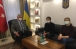 ©Андрій Сибіга/фейсбук: 27.11.2020р. Посол України в ТР Андрій Сибіга з науковцями Тургутом Турелем та Юлією Білецькою