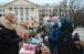 © Safiya. Мусульманки Запорожья: 07.02.2021 г., Запорожье, бульвар Шевченко. Акция Лиги мусульманок Украины ко Всемирному дню хиджаба