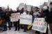 Ukrainians picket Russian embassy over Aleppo massacre