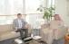 ©️Посольство України в Кувейті: 11.01.2021р., зустріч Посла України О.Балануци з заступником генерального директора Торгово-промислової палати Кувейту Е. Аль-Заідом