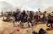 Бегство английской кавалерии в битве при Майванде