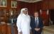 Посол Украины Евгений Микитенко 12.07.15 г. провел встречу с Хамадом Аль-Атийя