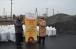 Благодаря помощи Muslimehelfen 55 мусульманских семей-ВПО получили 32 тонны угля