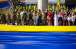 Українські мусульмани на вшануванні Державного Прапора в Дніпрі