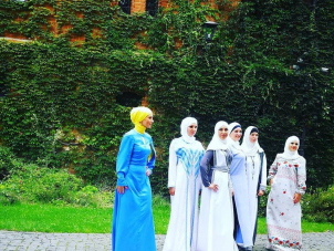 "Performance of Muslim Looks on the Ethnic-Fashion Show ""Aristocratic Ukraine"""