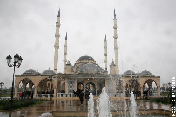 Мечеть в Грозному