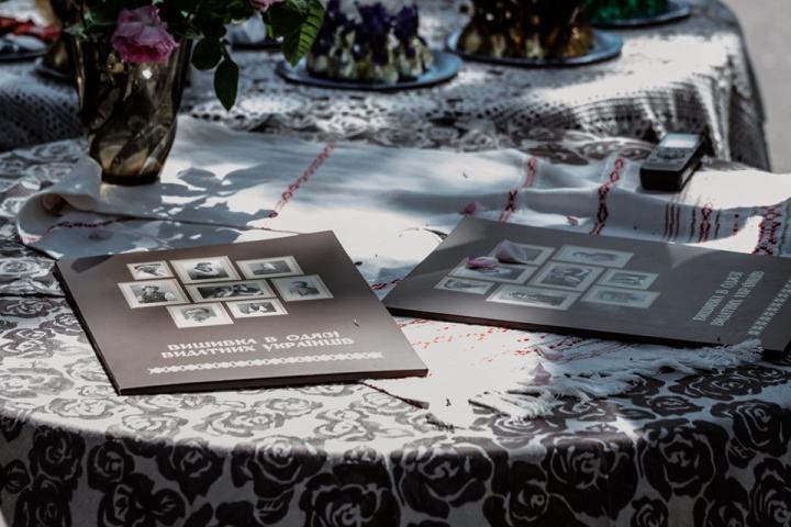 ©️Лилиана Зэз: 06.06.2020, муфтий ДУМУ «Умма» на презентации издания «Вышивка в одежде выдающихся украинцев», Музей Максима Рыльского, Киев