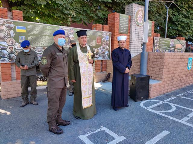 ©️ ІКЦ Дніпра: Дніпровський імам звернувся з напутнім словом до воїнів Нацгвардії