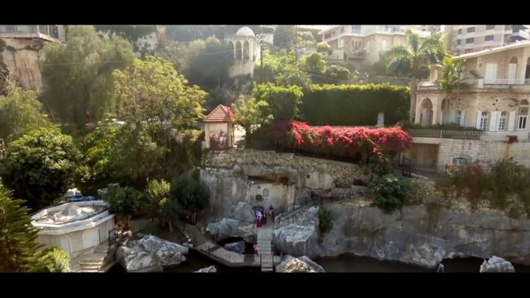 ©️Ліда Базіляк/фейсбук: За переказами, це саме це місце, де Св.Георгій (Джирджіс)  подолав змія